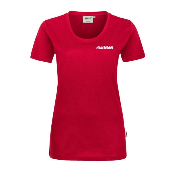 #TEAM TV Oyten T-Shirt Women Logo klein
