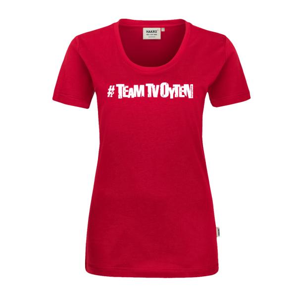 #TEAM TV Oyten T-Shirt Women Logo groß